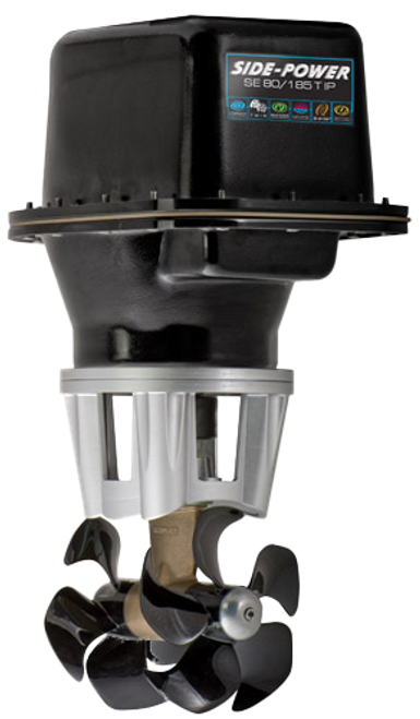 Side-Power SE80/185T-12IP, 12V, Twin Props 176 lbs of Thrust, Ignition Protected