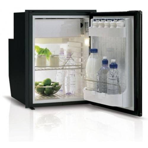 Vitrifrigo C51IBD4-F-1, Sea Classic, Refrigerator w/freezer compartment, Black, 12/24V 115/230 VAC - 50/60Hz