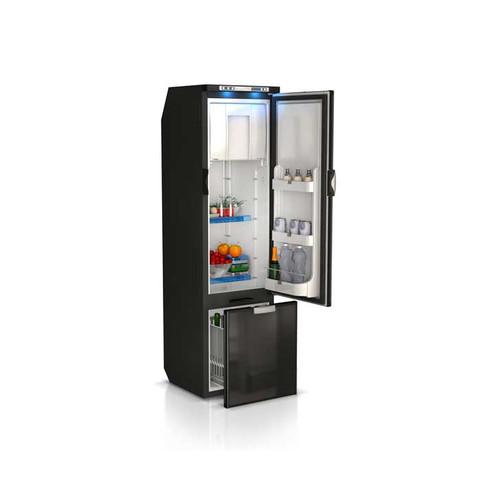 Vitrifrigo SLIM150RSD4-EQ, Sea Classic, Refrigerator w/freezer compartment, drawer refrigerator under, external unit, Gray Front