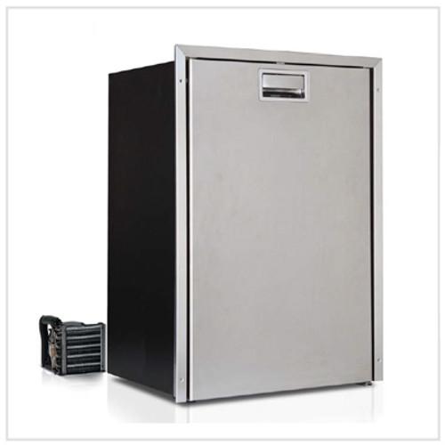 Vitrifrigoo Stainless Steel C42RXD4-F-1 1.4 cu. ft. Refrigerator w/freezer compartment, external unit, Flush flange, Steelock latch, 12/24V, 115/230V -50/60Hz
