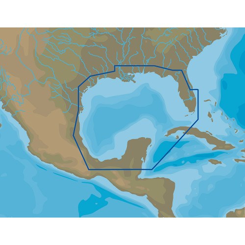 C-MAP 4D NA-D064 Gulf of Mexico - microSD™/SD™
