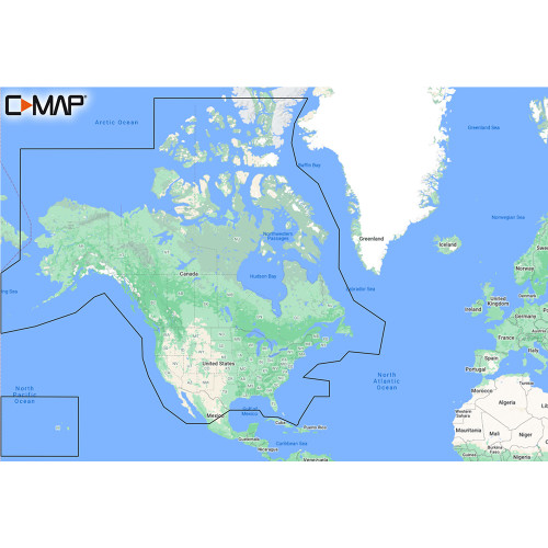 C-MAP M-NA-Y200-MS DISCOVER™ North America