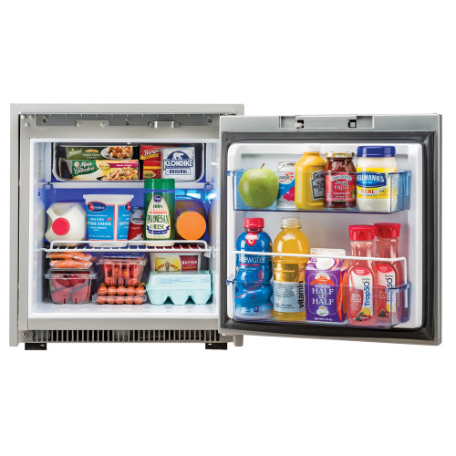 Norcold Stainless Steel 2.7 cu ft Refrigerator AC/DC