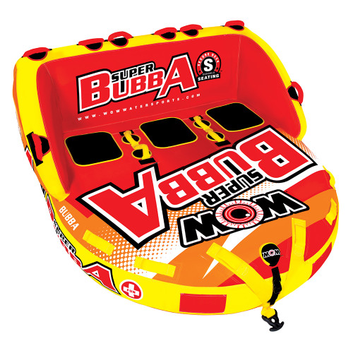 WOW Watersports Super Bubba HI-VIS 3P Towable - 3 Person