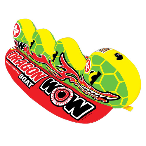 WOW Watersports Dragon Boat Towable - 3 Person