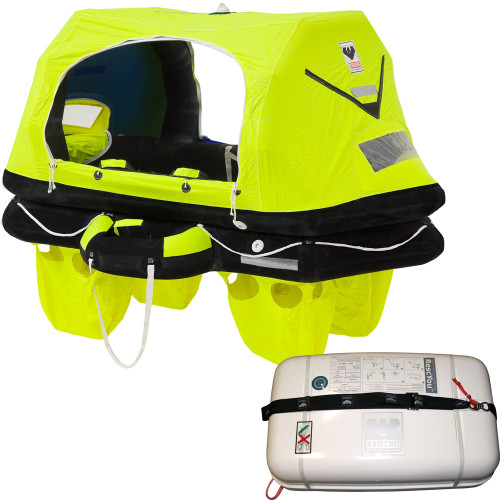 VIKING RescYou Pro Liferaft 4 Person Container Offshore Pack
