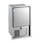 Vitrifrigo IMREFIXN1-F,  Ice Maker,  Internal refillable water tank, Stainless steel, Flush flange, 115Vac