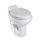 510H Standard Height, Gravity-Discharge Toilet Dometic, Available White and Bone