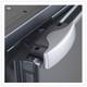 Vitrifrigo DP2600IBD4-F-2, Sea Classic, Double door Refrigerator/Freezer, Black,  Flush Flange, Airlock latch, internal unit, 12/24V 115/230VAC - 50/60Hz