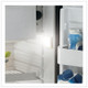 Vitrifrigo C42RXP4-F-1, Stainless Steel, Refrigerator only, external unit, Flush flange, Steelock latch, 12/24V, 115/230V - 50/60Hz