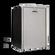 Vitrifrigo C51IXD4-F-1, Stainless Steel, Refrigerator w/freezer compartment, front, Flush flange, Steelock latch, internal unit 12/24V, 115/230VA