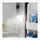 Vitrifrigo C85IXD4-F-2, Stainless Steel, Refrigerator w/freezer compartment, Stainless steel front, Steelock latch, internal unit, 12/24V, 115/230VAC - 50/60Hz