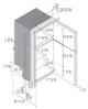 Vitrifrigo DP2600IXD4-F-2, Stainless Steel, Double door Refrigerator/Freezer, Stainless steel front, Steelock latch, internal unit, 12/24v, 115/230VAC - 50/60Hz
