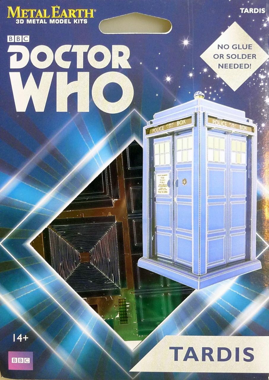Metal Earth Doctor Who Tardis 3D Metal Model Tweezer 41002