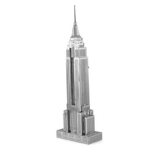 ICONX Empire State Building 3D Laser Cut Model Fascinations 13108