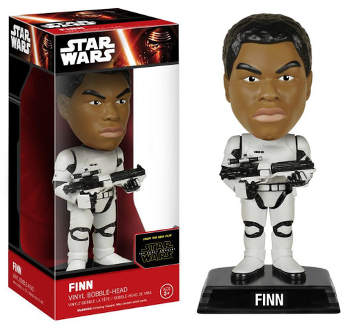 Star Wars Ep7 Bobble Head Finn figure Funko 62453