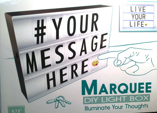 Nuop My Marquee small message Board 84975