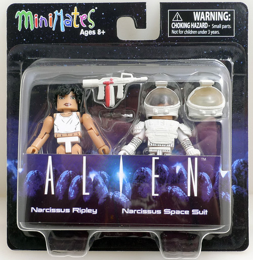 Alien Minimates s3 Narcissus Ripley & Narcissus Space Suit figures 82659