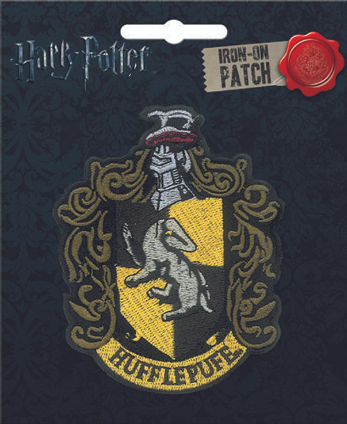 Ata-Boy Harry Potter Hufflepufe Crest Iron-On Patch 10090