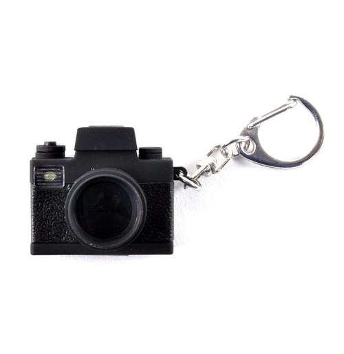 Camera Keyring With Super Bright LED Camera Flash & Shutter Sound 72640