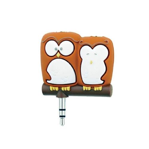 Gift Republic Headphone Splitters, Owls 94699