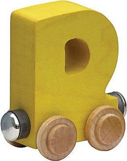 Name Train - Bright Color Childrens Wooden Trains Letter D
