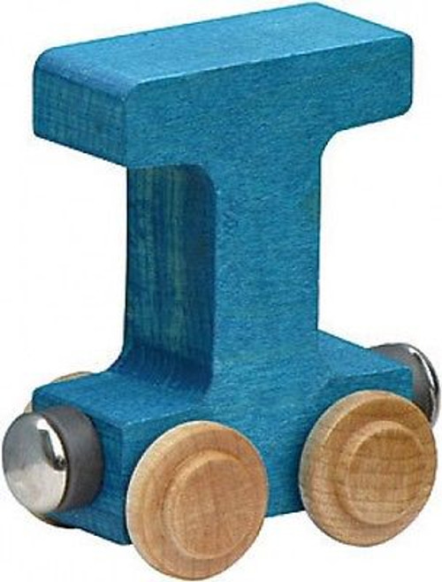 Name Train - Bright Color Childrens Wooden Trains Letter T