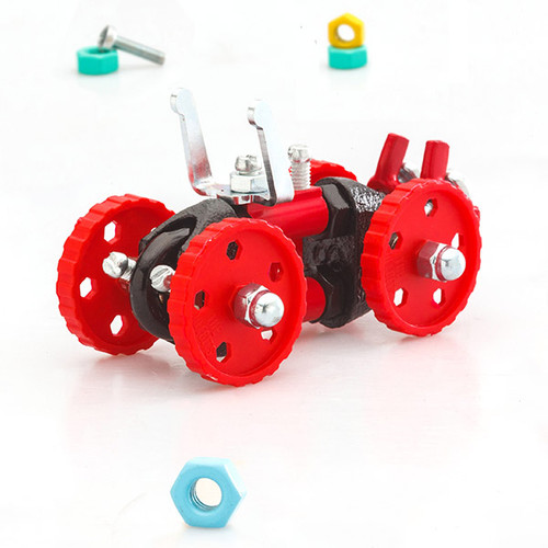 Fat Brain Toys The Off Bits Red Vehicle 21823