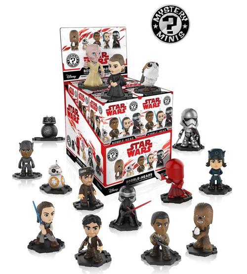 Star Wars The Last Jedi Mini PDQ sealed box of 12 figures Funklo 02473