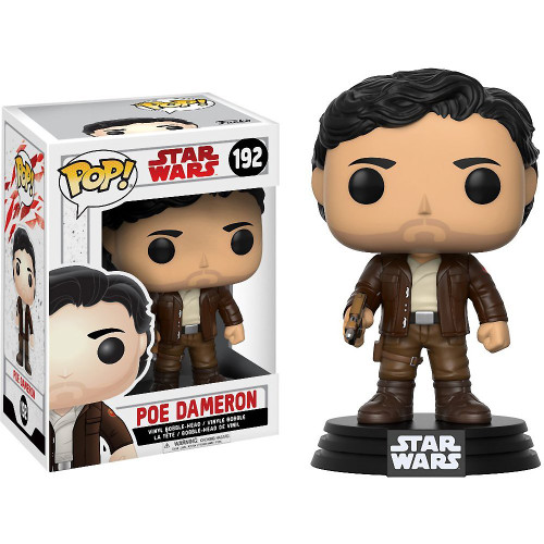 Funko Pop Star Wars - The Last Jedi 192 Poe Dameron figure Funko 14747