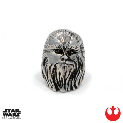 Star Wars Chewbacca Ring Silver Size 9 Han Cholo