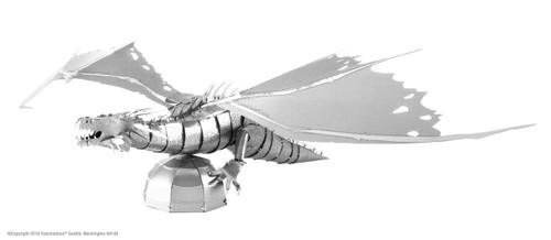 Metal Earth Harry Potter Gringotts Dragon 3D Metal Model + Tweezer 14433
