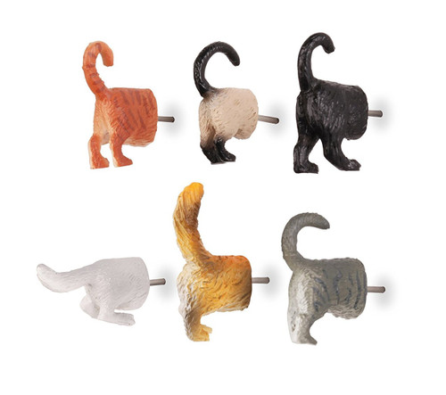 Cat Butt Push Pins Kikkerland 87361