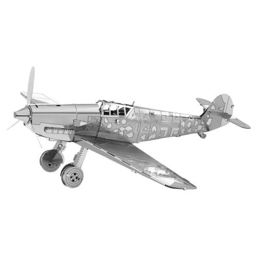 Metal Earth Messerschmitt BF-109 3D Metal  Model + Tweezer 11180