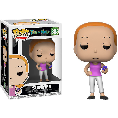 Pop Animation Rick and Morty 303 Summer Funko figure 29609