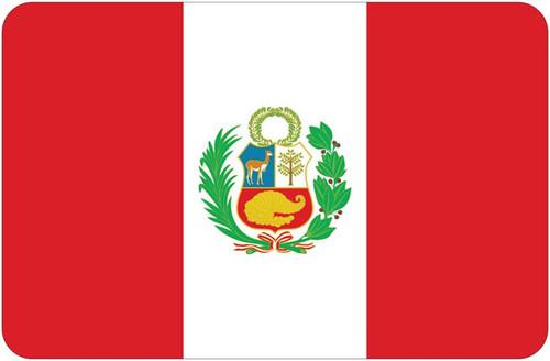 Peru Car Magnet 11.5 x 17.5 inches World Cup !