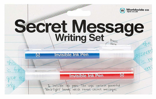 Secret Message Pens Writing Set NPW 04502