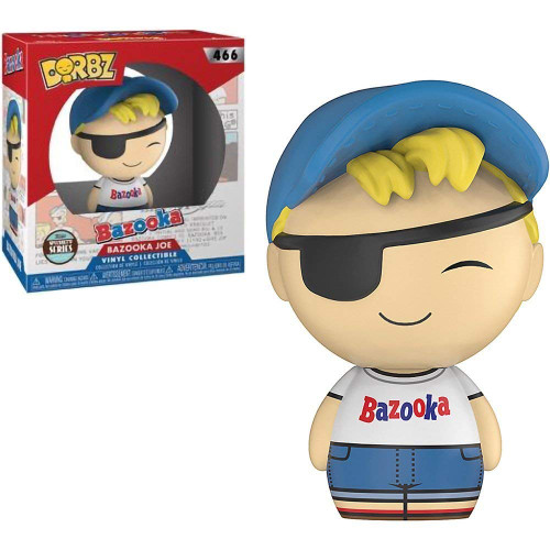 Dorbz Specialty Bazooka Joe 466 Bazooka Joe Funko figure 94898