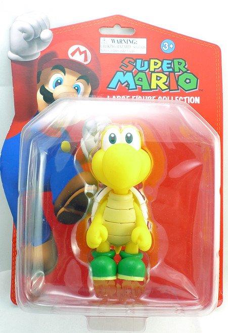 Super Mario Large Figure Collection Koopa Troopa Goldie 10211