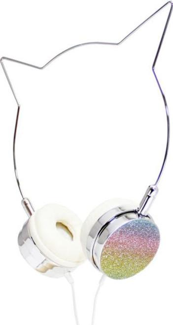 Glitter Rainbow Unicorn headphones American Jewel 84718
