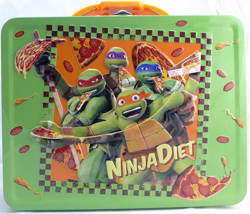 Teenage Mutant Ninja Turltes Ninja Diet Tin Lunch Box 44535