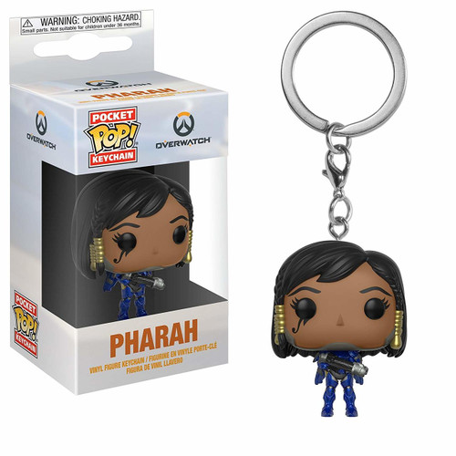 Pop Pocket Keychain Overwatch Pharah Funko figure 27916