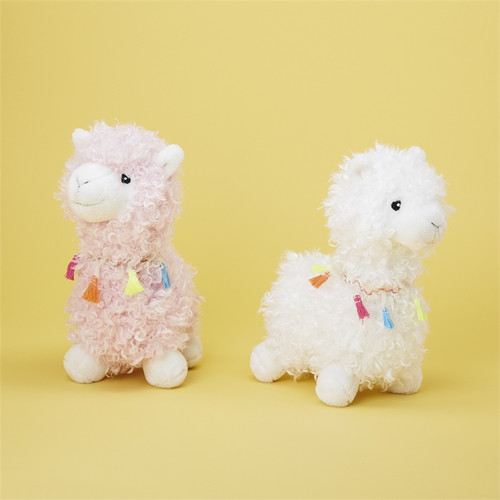Soft Plush Llama Assorted colors Two's Company 43271-20