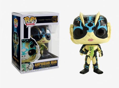 Pop Movies Shape of Water 627 Amphibian Man w card Funko figure 25417