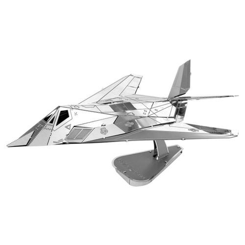 Metal Earth F-117 Nighthawk 3D Metal Model + Tweezers 11647