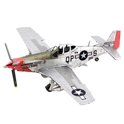 Metal Earth P-51D Mustang Sweet Arlene 3D Metal Model + Tweezers 11807