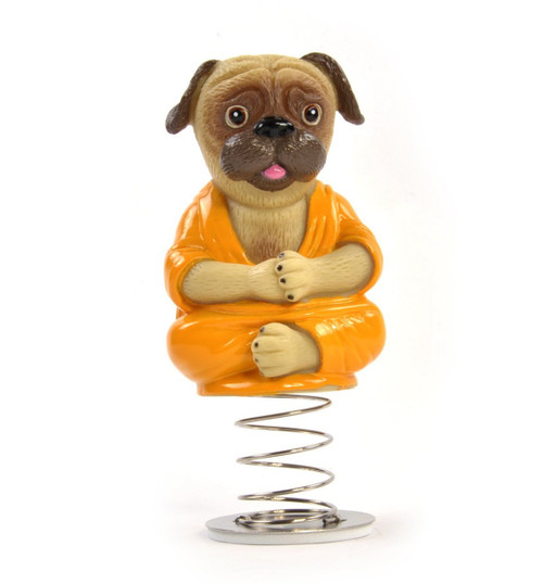 Accoutrements Dashboard Pug Buddha 27348