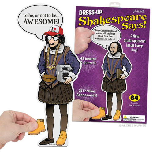 Accoutrements Dress-Up Shakespeare Says Clings 25368