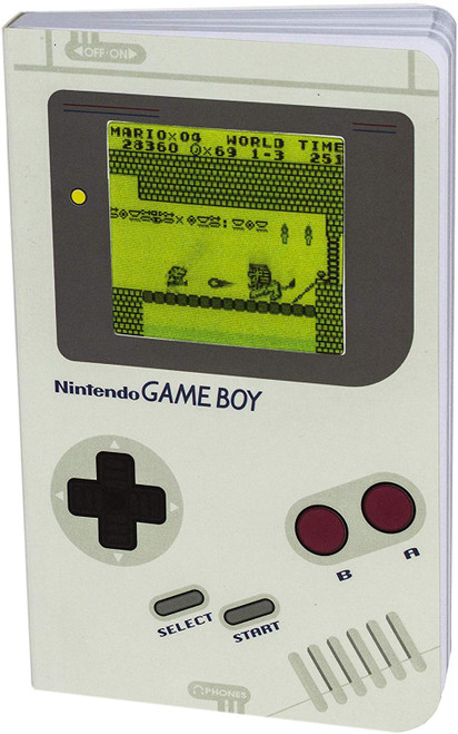 Game Boy Notebook - 100 Lined Pages Paladone 06975