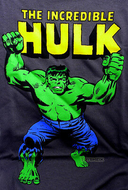 Marvel T-Shirt Incredible Hulk short sleeve Medium ulk03